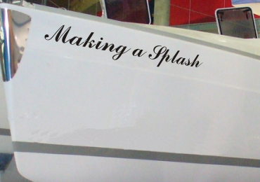 WATERPROOF VINYL BOAT NAMES DECALS STICKERS SIGNS