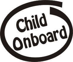 Child Onboard Vinyl Sticker