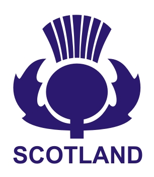 Scottish Thistle Vinyl Sticker